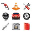 set car vector image vector image