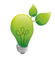 Go green and ecology theme vector image