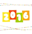 2016 Happy New Year background The file vector image