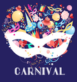 carnival background vector image vector image
