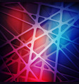 3d web with shadows abstract colorful background vector image
