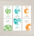 banner template design with spherical and vector image