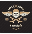 Skateboarding Colored Print vector image