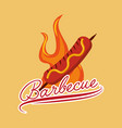 barbecue celebration concept icons vector image