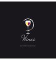 Wine List vector image vector image