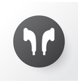earmuff icon symbol premium quality isolated vector image