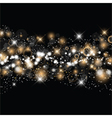christmas and new year starry background 0511 vector image