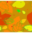 pattern with the image of silhouettes and contours vector image vector image