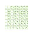 Dominoes-380x400 vector image