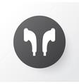 earmuff icon symbol premium quality isolated vector image