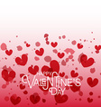 Hand sketched Happy Valentines Day text as vector image