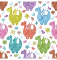 Seamless background Dragons vector image