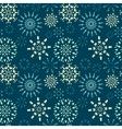 Christmas seamless pattern White light vector image
