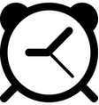 mobile smart phone alarm icon vector image