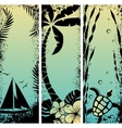sea grunge banners vector image vector image