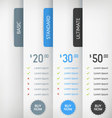 Pricing Labels vector image