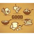 good morning vector image