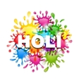 Colorful Background with Blots for Indian Festival vector image