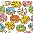 Donuts Seamles Pattern vector image