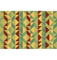 Quilt Seamless Pattern vector image