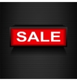 Discount warning messages Sale Warning Grid vector image