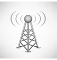 broadcasting antenna vector image vector image