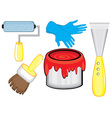 tools for diy repairs vector image