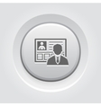 Business Profile Icon vector image