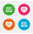 best boyfriend and girlfriend icons vector image