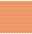 Tile pink and orange zig zag pattern vector image