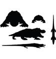 reptiles alligator vector image