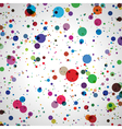 Abstract colorful circles vector image