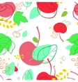 pattern with the image of sea buckthorn berries vector image
