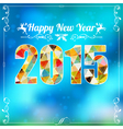 Retro New Year Frame vector image vector image