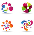sci-fi abstract designs vector image vector image