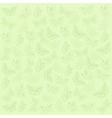 Butterflies green background vector image
