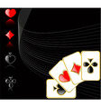 play card set eps 8 vector image
