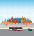 Grand Palace Bangkok vector image