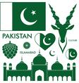 Pakistan vector image