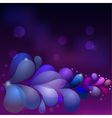 Abstract background with colored drops eps10 vector image