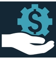 Industrial Service Flat Icon vector image