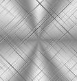 Scratched Alluminum Background vector image
