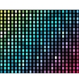 Abstract mosaic neon background 2 vector image