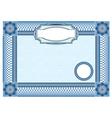 certificate 1 380 vector image