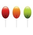 lollypop vector image