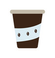 isolated coffee drink vector image