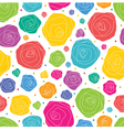 pattern rose vector image vector image