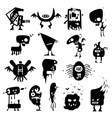 funny monsters vector image vector image