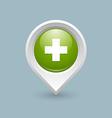 Medical cross symbol vector image vector image