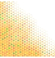 Colored Halftone Background vector image vector image